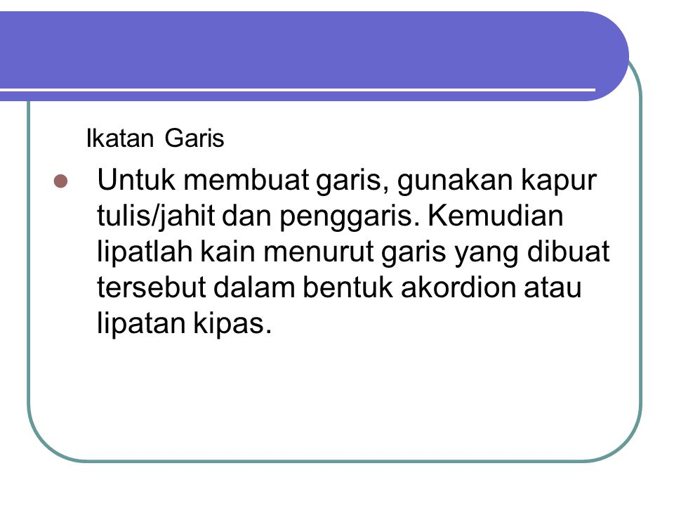 Ikatan Garis