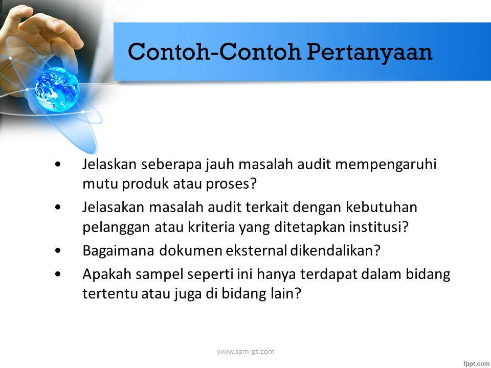 Contoh-Contoh Pertanyaan