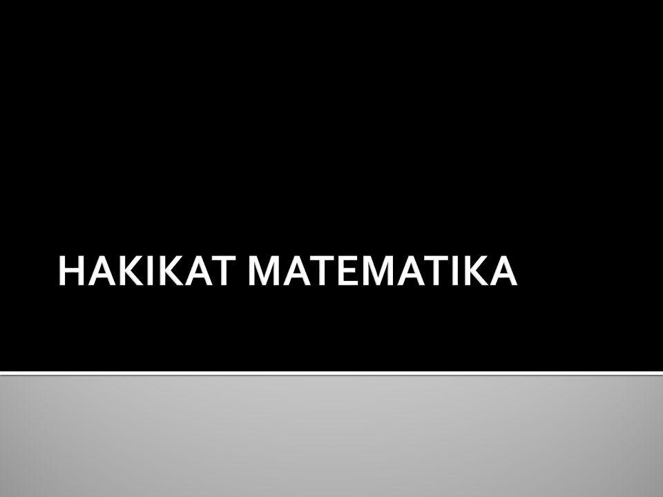 HAKIKAT MATEMATIKA 1