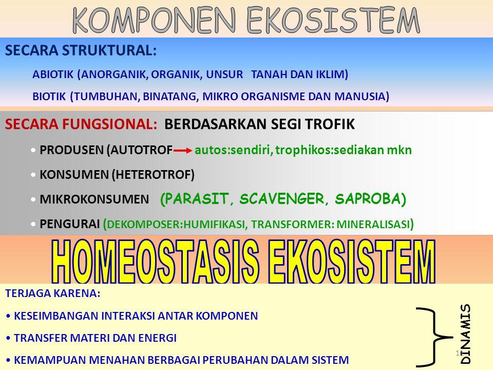 HOMEOSTASIS EKOSISTEM