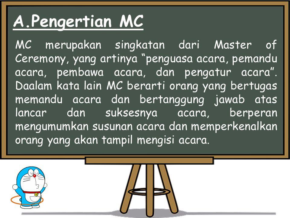 A.Pengertian MC