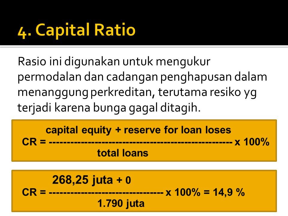 4. Capital Ratio