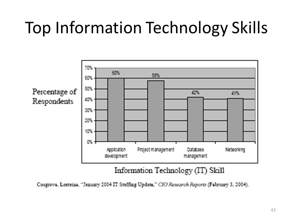 Top Information Technology Skills