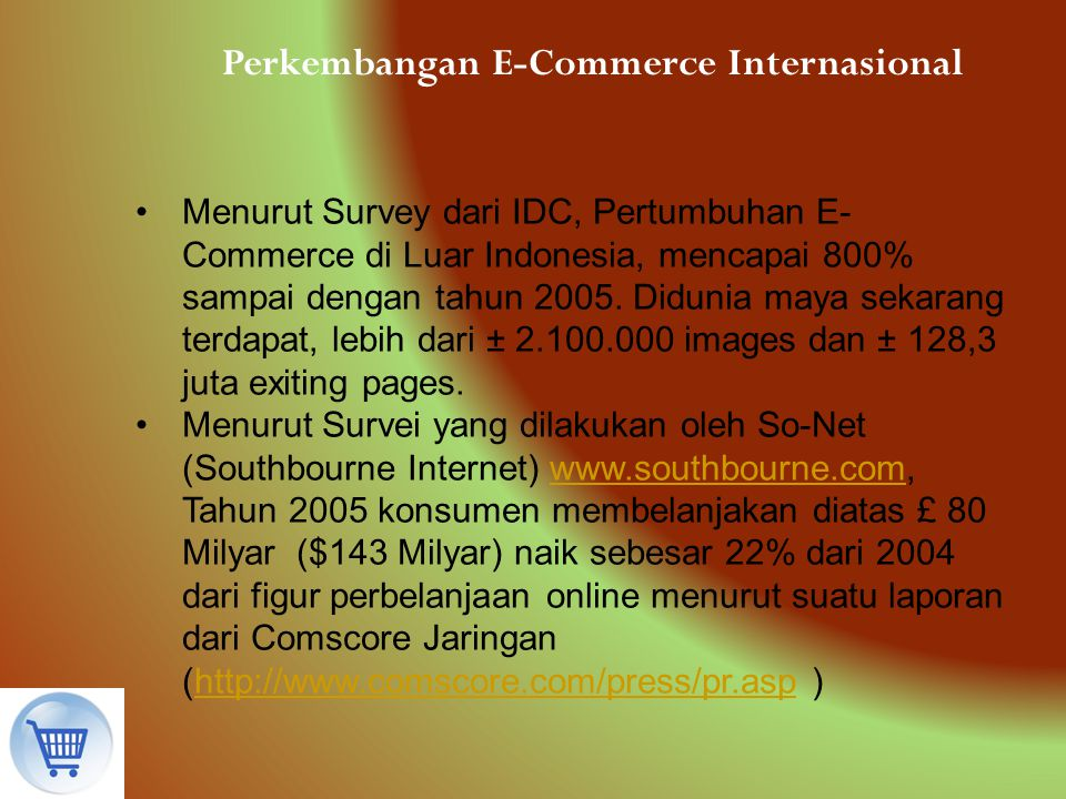 Perkembangan E-Commerce Internasional