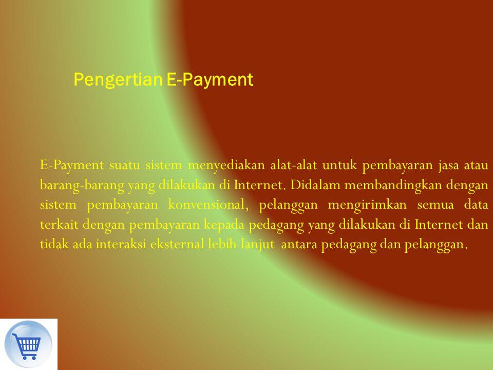 Pengertian E-Payment