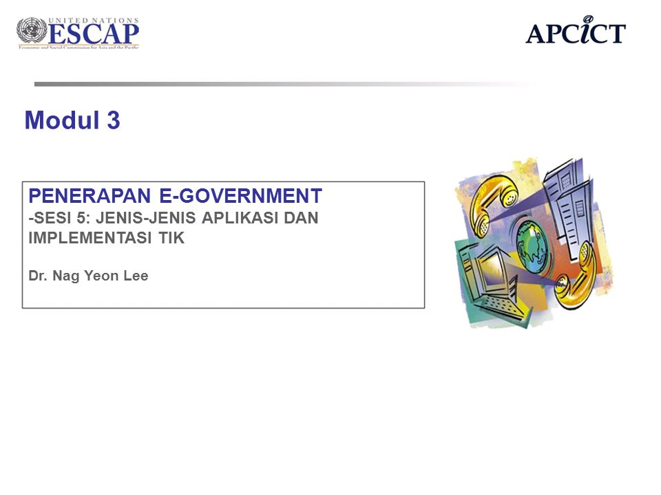 Modul 3 PENERAPAN E-GOVERNMENT