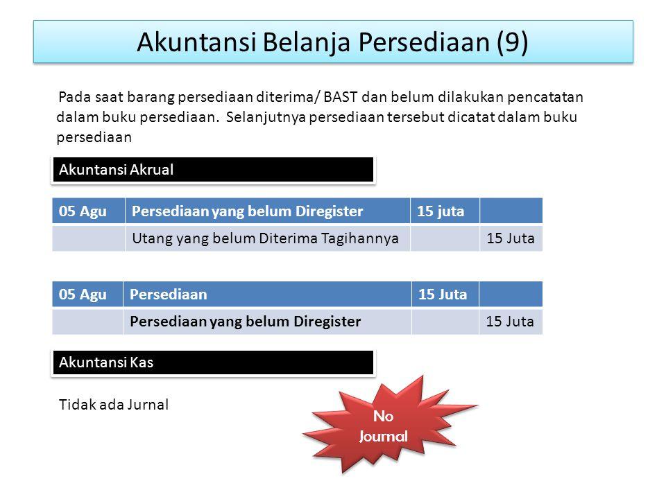Akuntansi Belanja Persediaan (9)