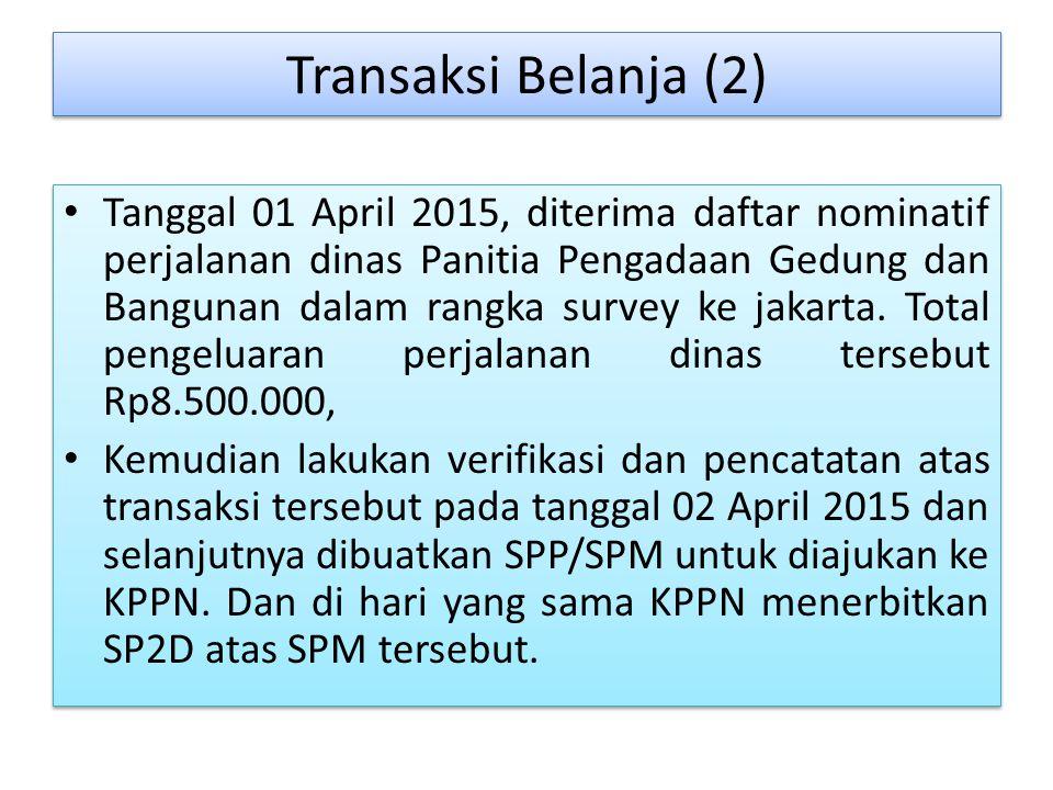 Transaksi Belanja (2)
