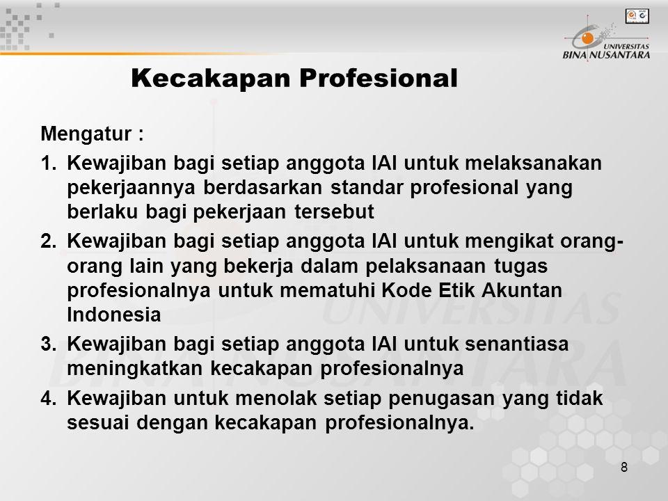 Kecakapan Profesional