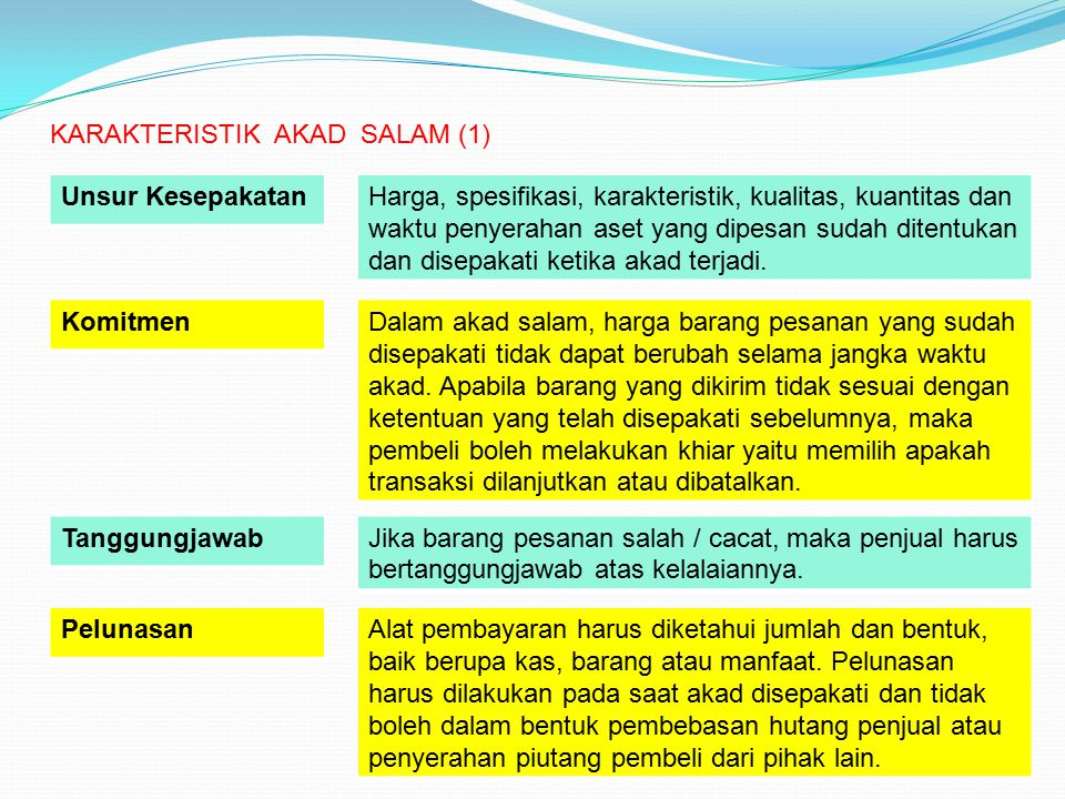 KARAKTERISTIK AKAD SALAM (1)