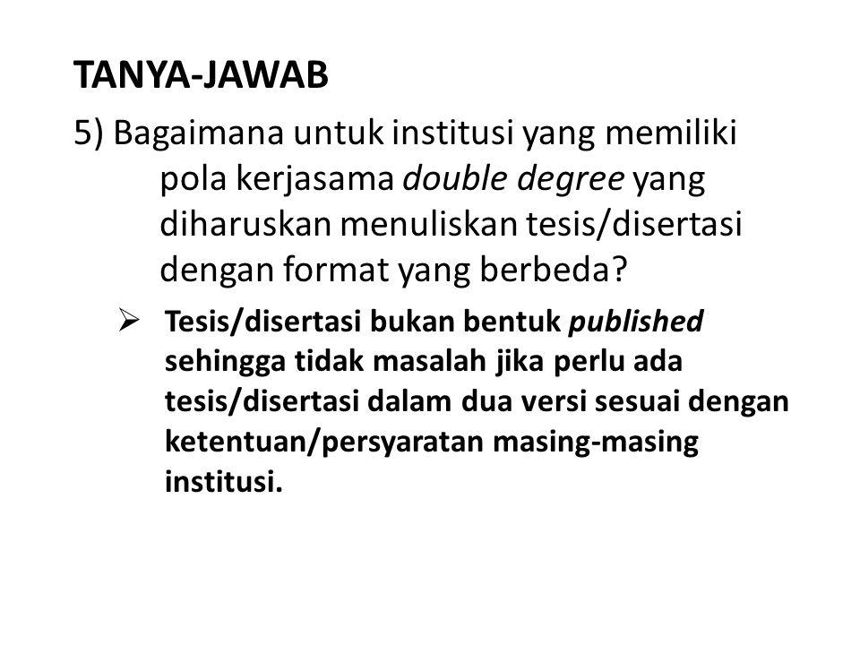 TANYA-JAWAB