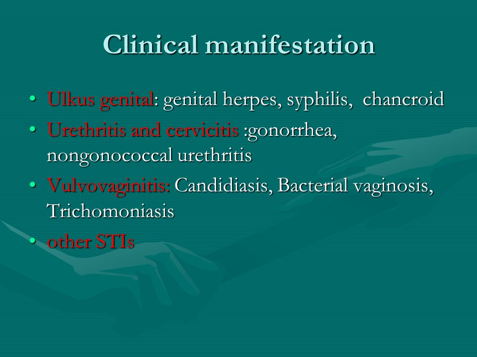 Clinical manifestation