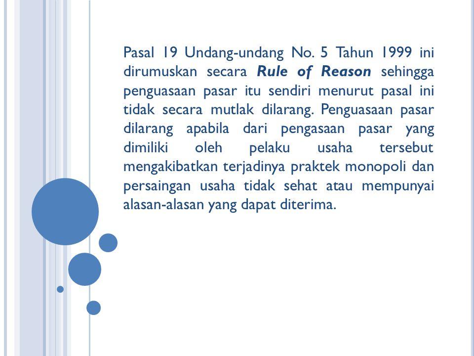 Pasal 19 Undang-undang No