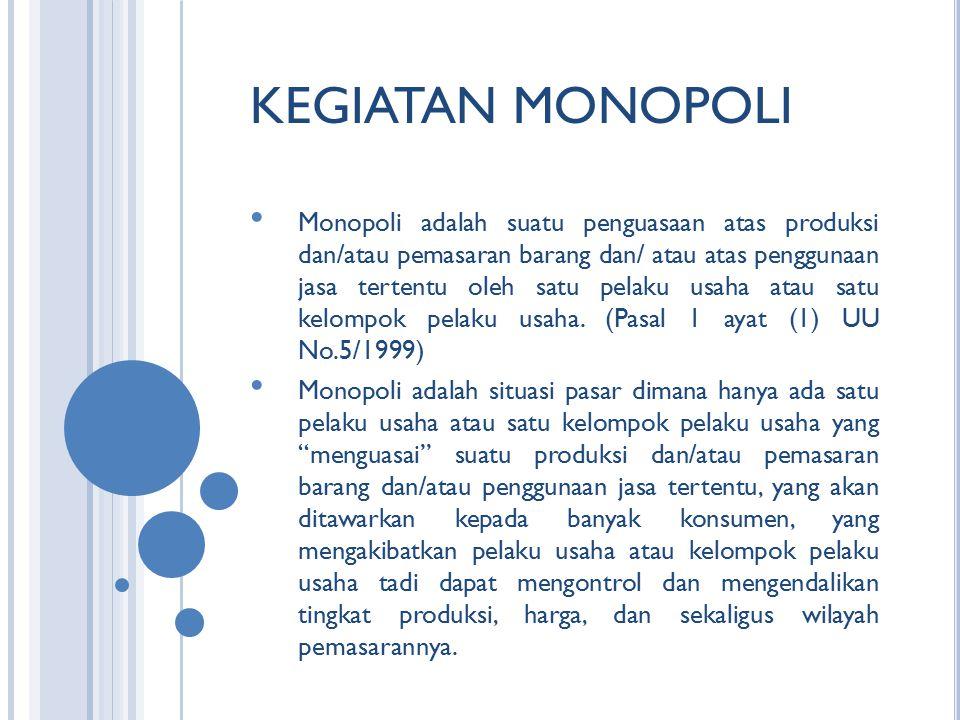 KEGIATAN MONOPOLI