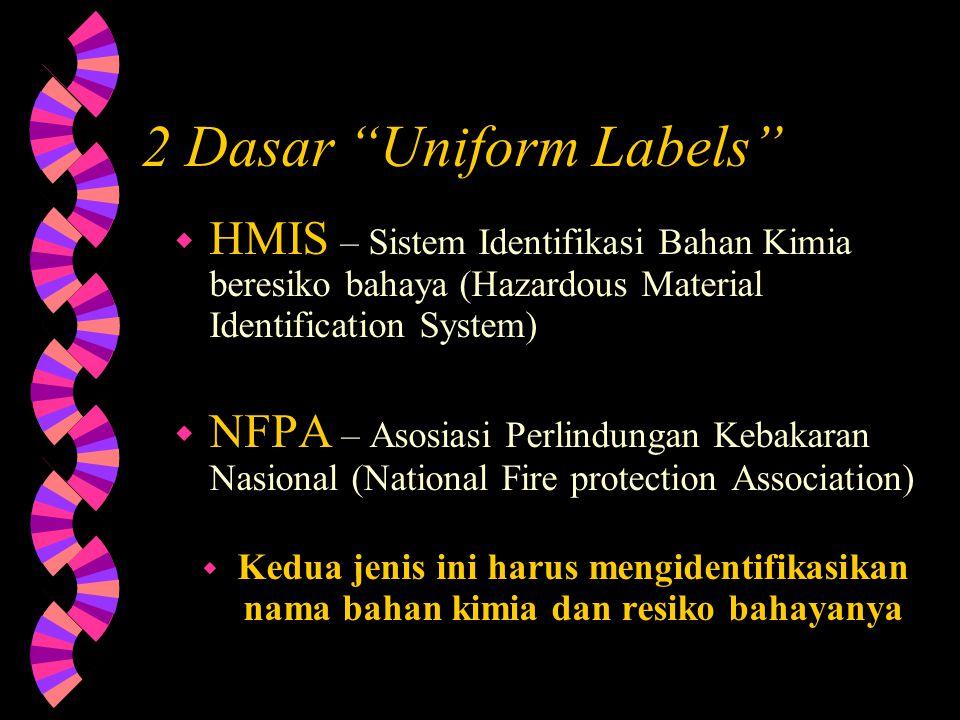 2 Dasar Uniform Labels