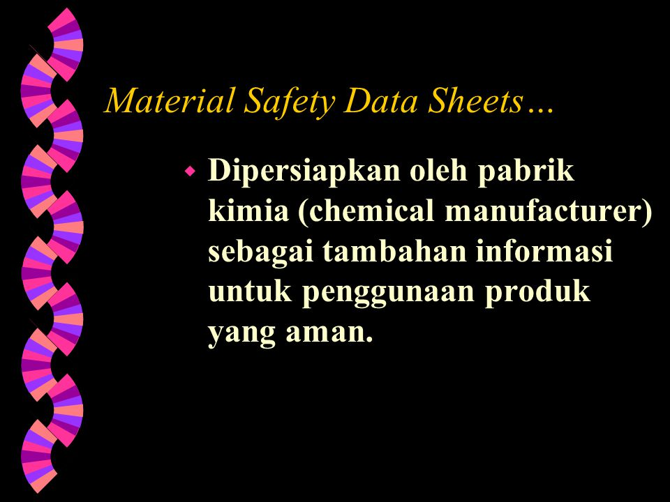 Material Safety Data Sheets…