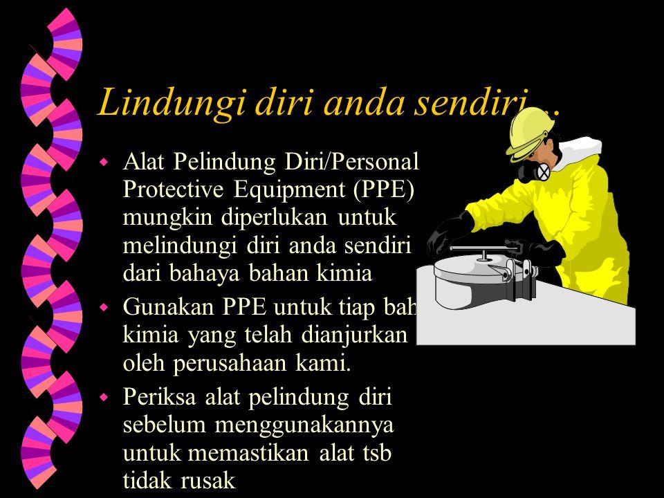Lindungi diri anda sendiri…