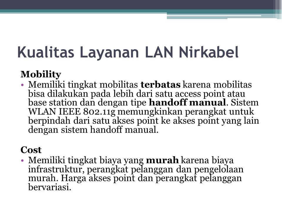Kualitas Layanan LAN Nirkabel