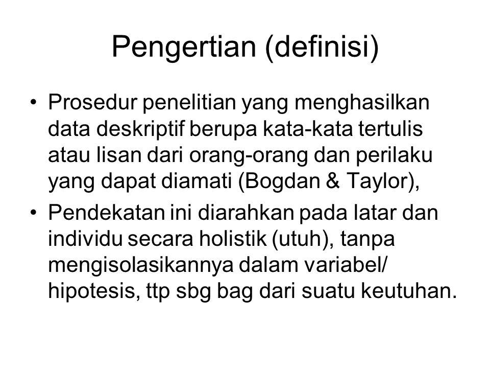 Pengertian (definisi)