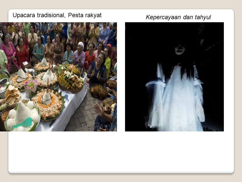 Upacara tradisional, Pesta rakyat