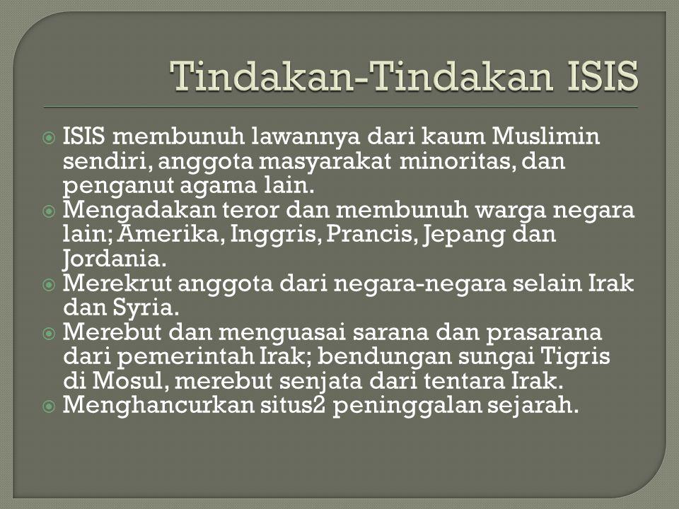 Tindakan-Tindakan ISIS