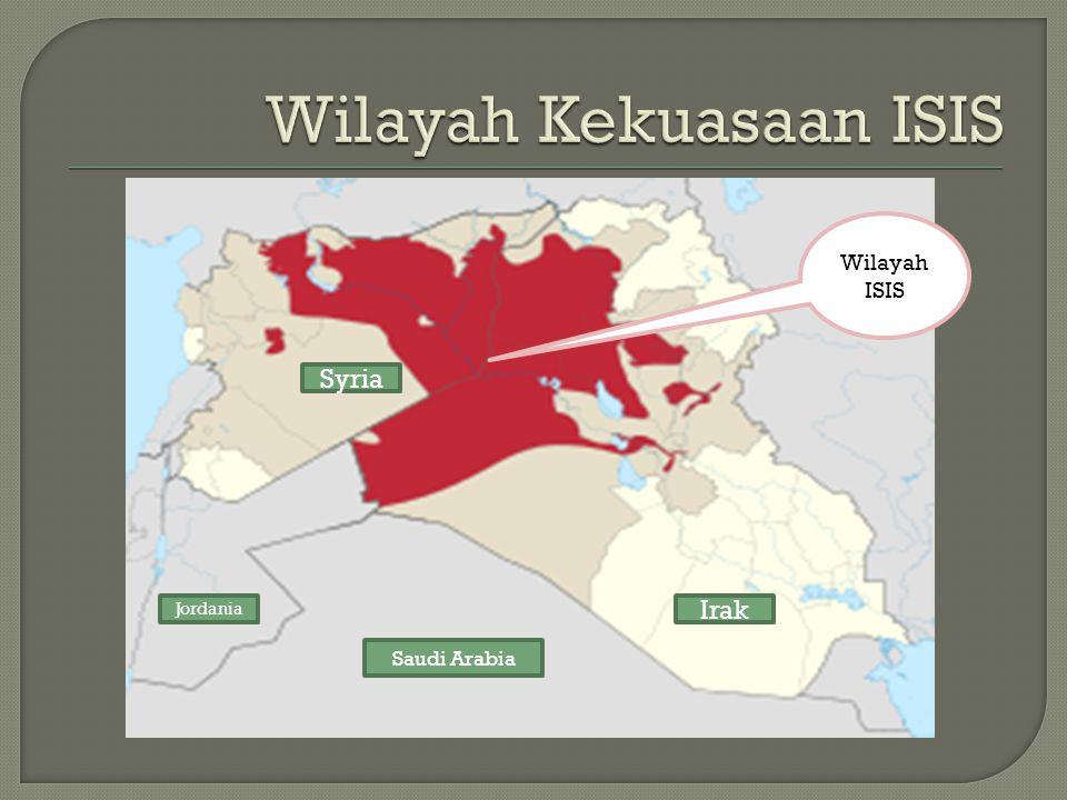 Wilayah Kekuasaan ISIS
