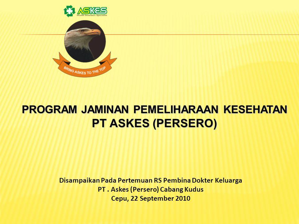 PT ASKES (PERSERO) PROGRAM JAMINAN PEMELIHARAAN KESEHATAN