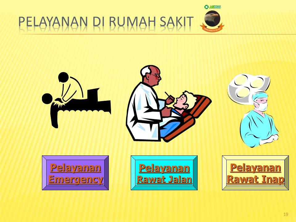 Pelayanan di Rumah Sakit