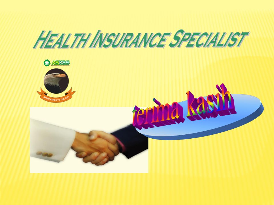 Health Insurance Specialist