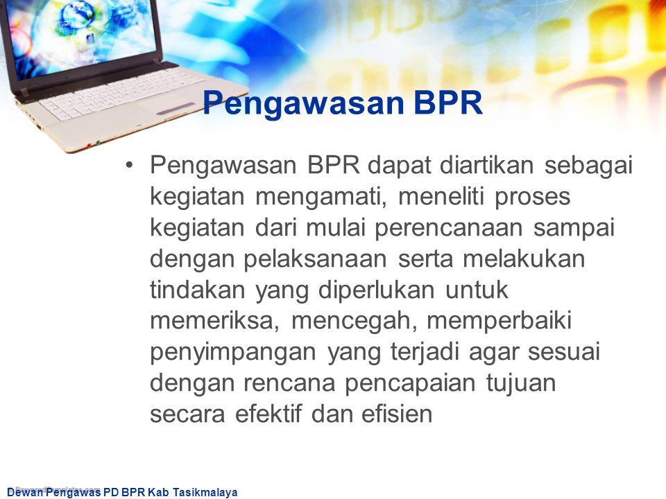 Pengawasan BPR