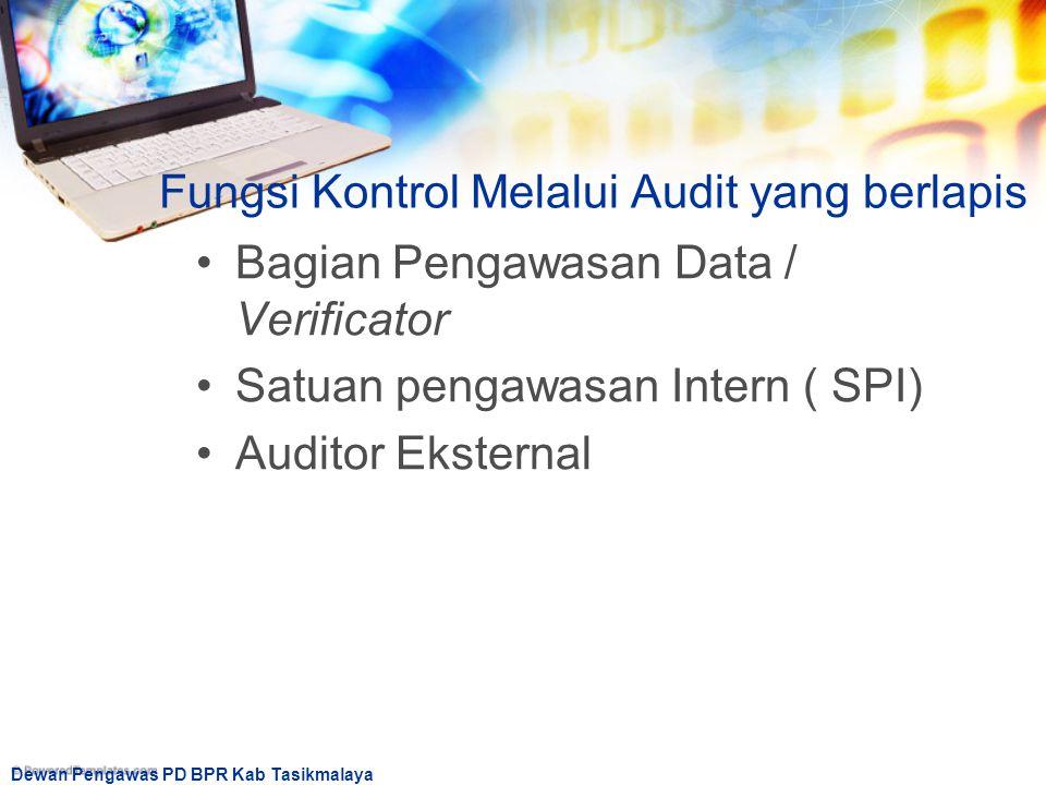 Fungsi Kontrol Melalui Audit yang berlapis