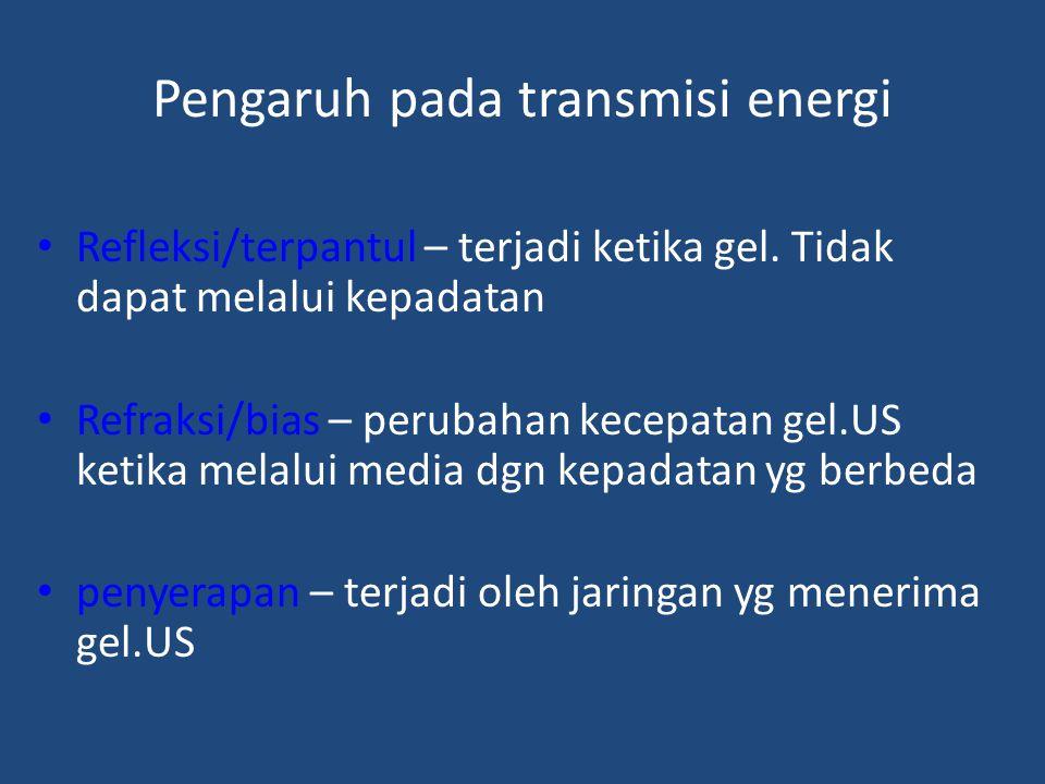 Pengaruh pada transmisi energi