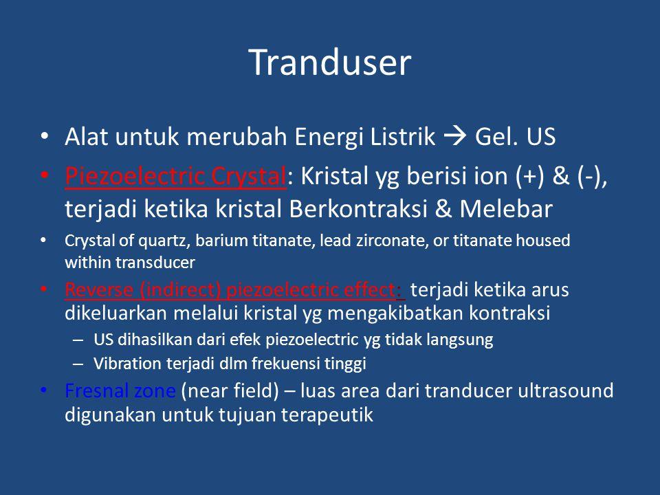 Tranduser Alat untuk merubah Energi Listrik  Gel. US