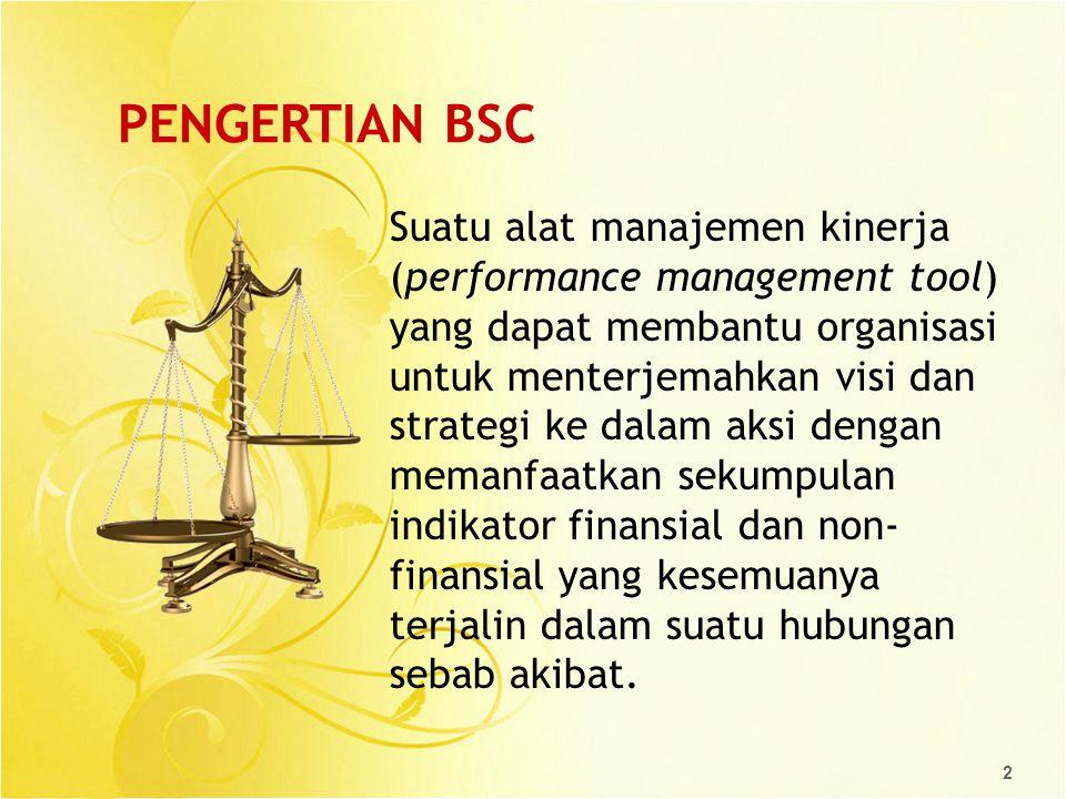 PENGERTIAN BSC
