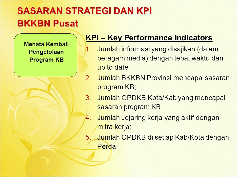 Menata Kembali Pengelolaan Program KB