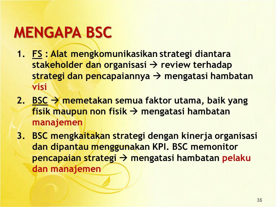 MENGAPA BSC