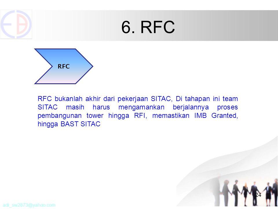 6. RFC RFC.