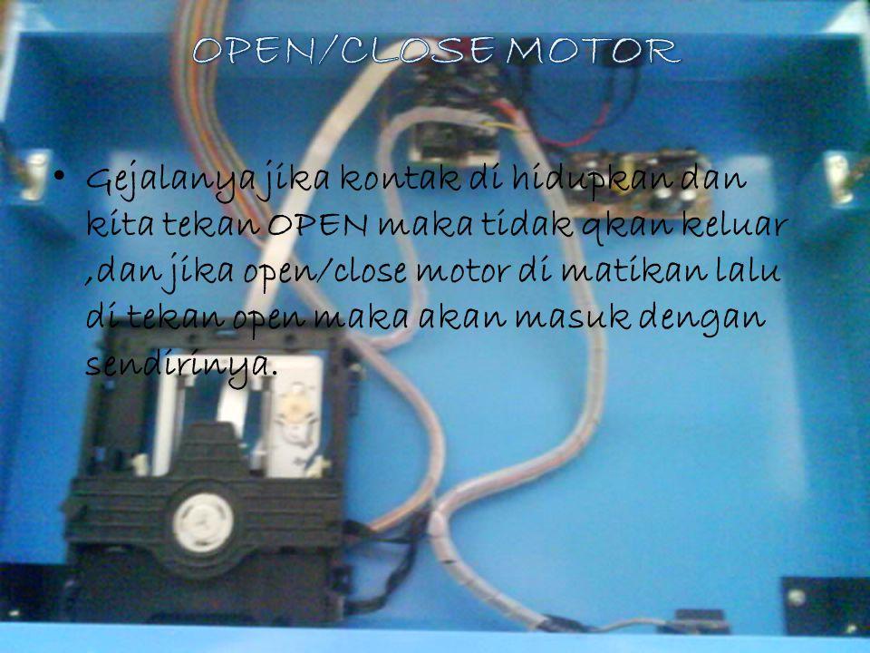OPEN/CLOSE MOTOR