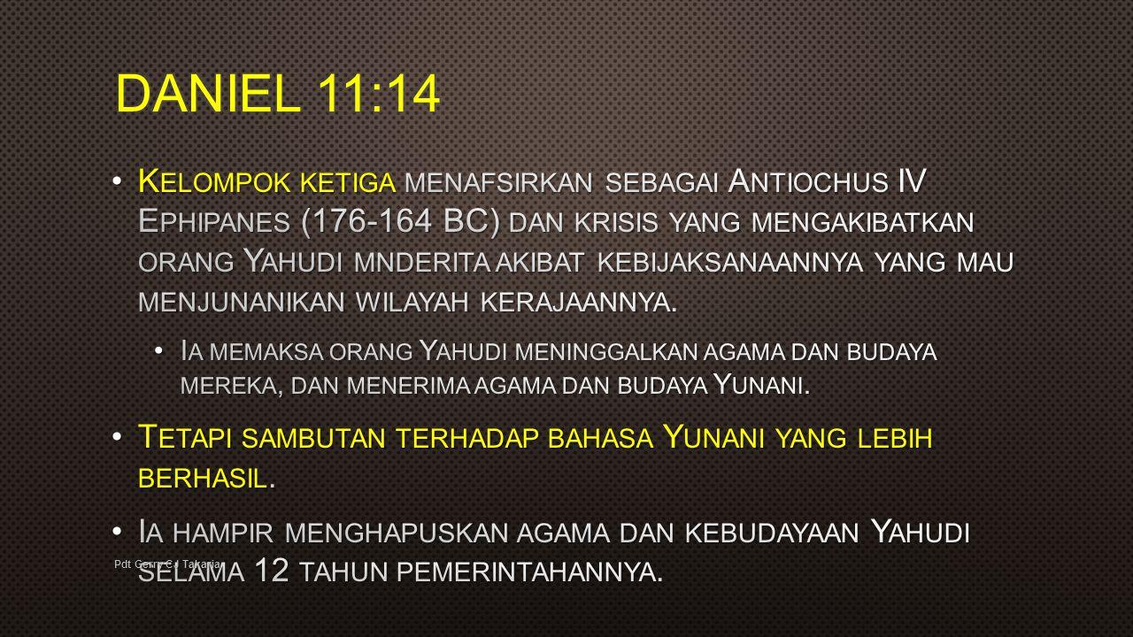 DANIEL 11:14