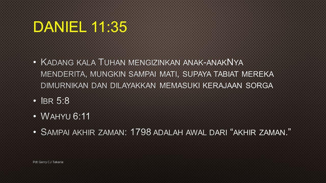 DANIEL 11:35