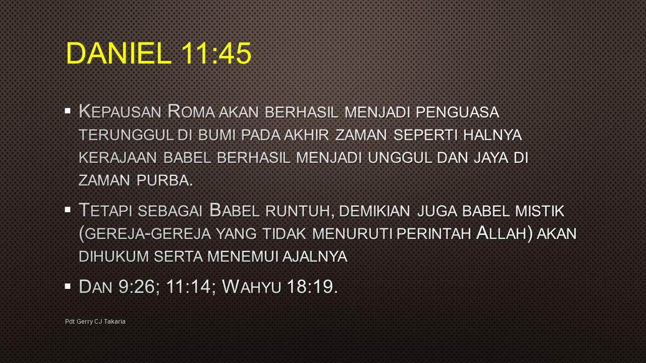 DANIEL 11:45