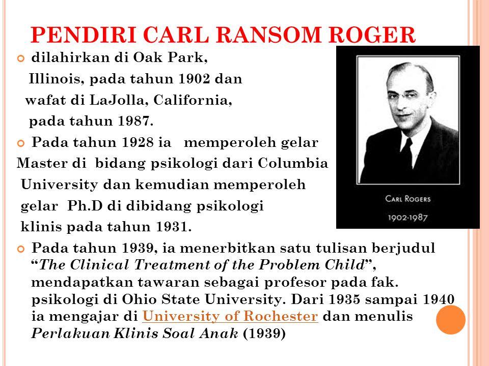 PENDIRI CARL RANSOM ROGER