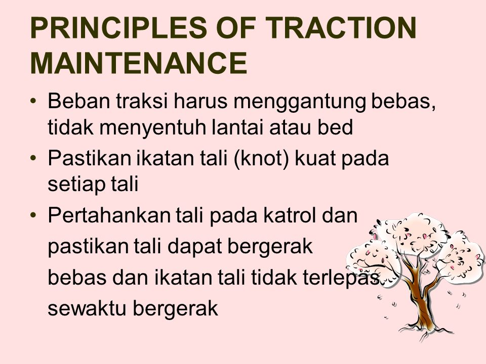 PRINCIPLES OF TRACTION MAINTENANCE