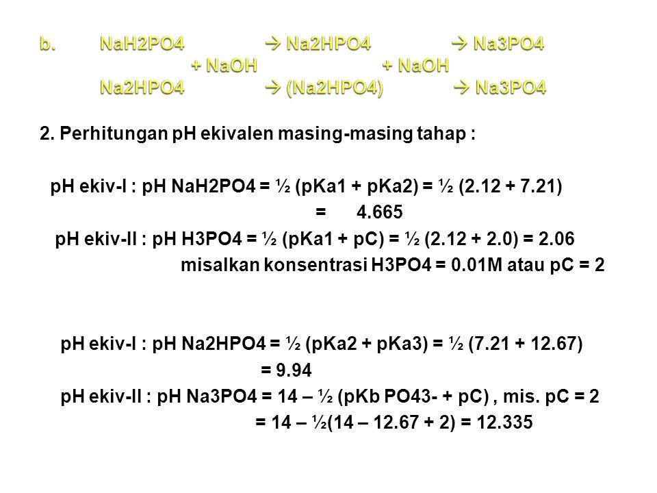 NaH2PO4  Na2HPO4  Na3PO4 + NaOH + NaOH Na2HPO4  (Na2HPO4)  Na3PO4