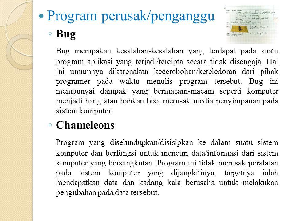 Program perusak/penganggu