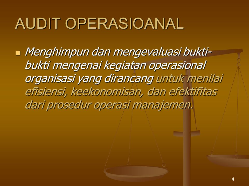 AUDIT OPERASIOANAL