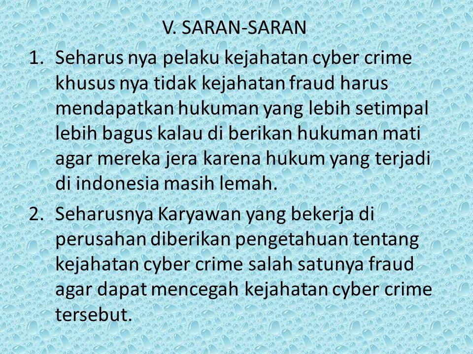 V. SARAN-SARAN