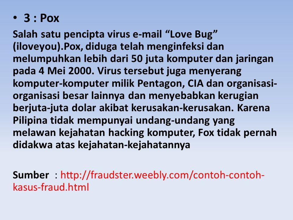 3 : Pox