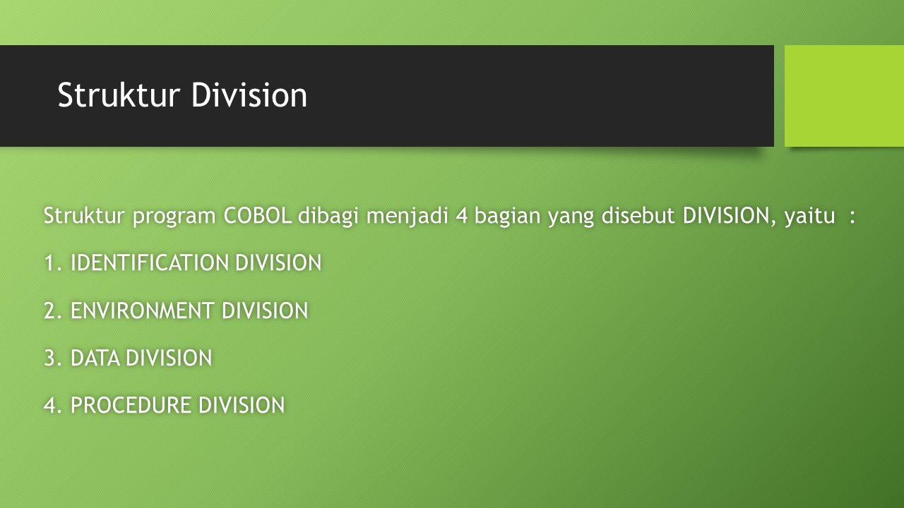 Struktur Division
