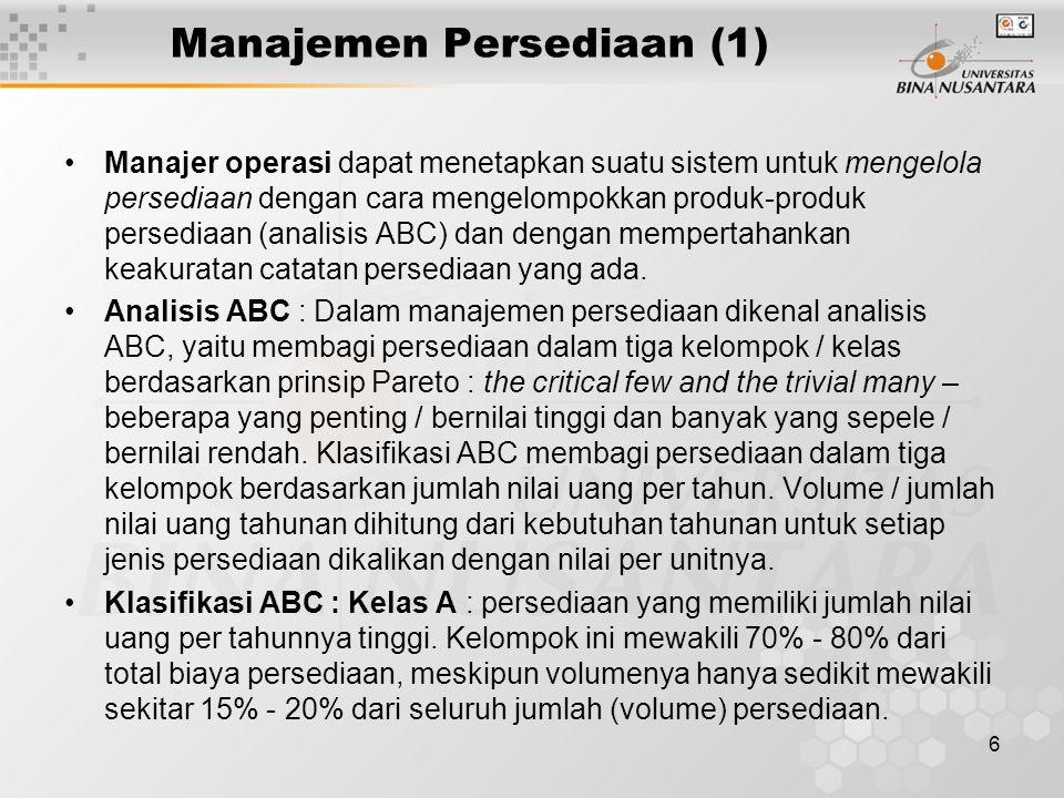 Manajemen Persediaan (1)